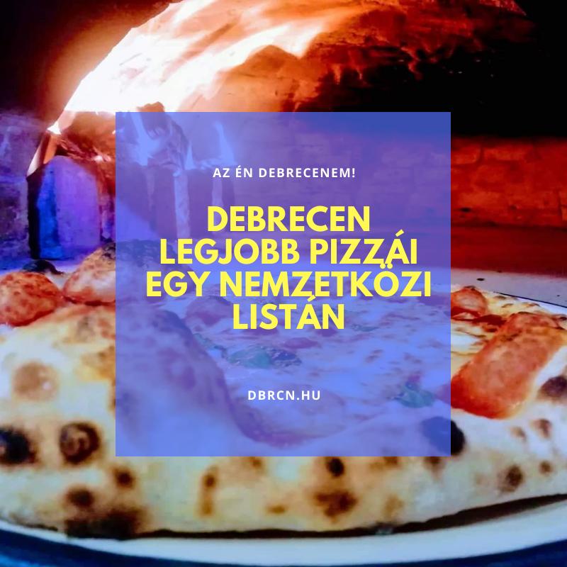 Debreceni pizzériák a Top 25-ben