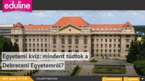 Eduline kvíz Debrecenről