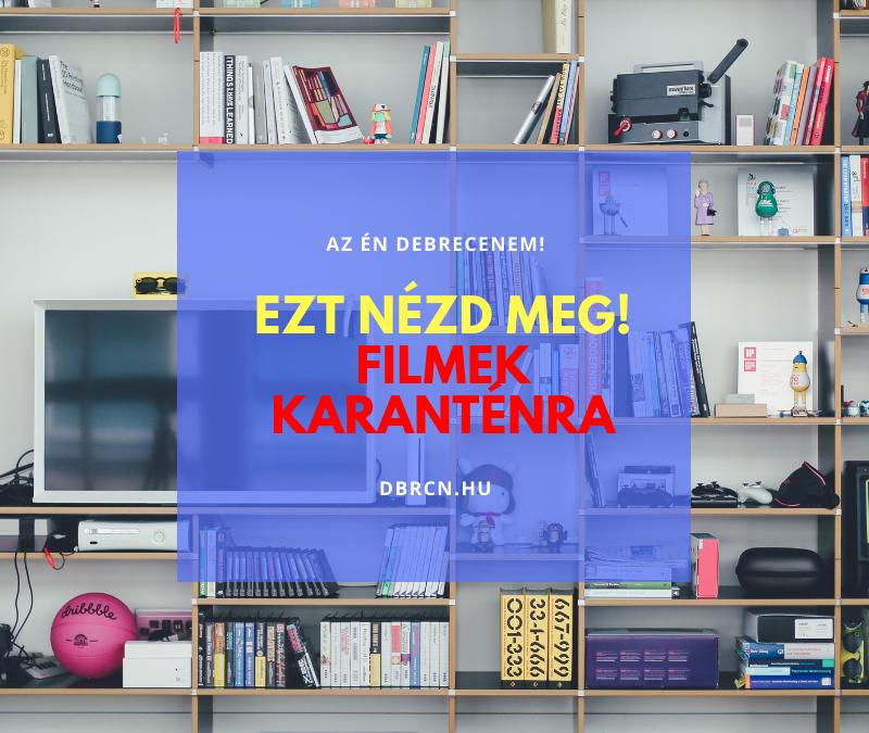 Ezt nézd meg Debrecen! – 5+1 film debreceniektől debrecenieknek