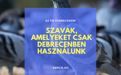 Szavak, amelyeket csak Debrecenben használunk