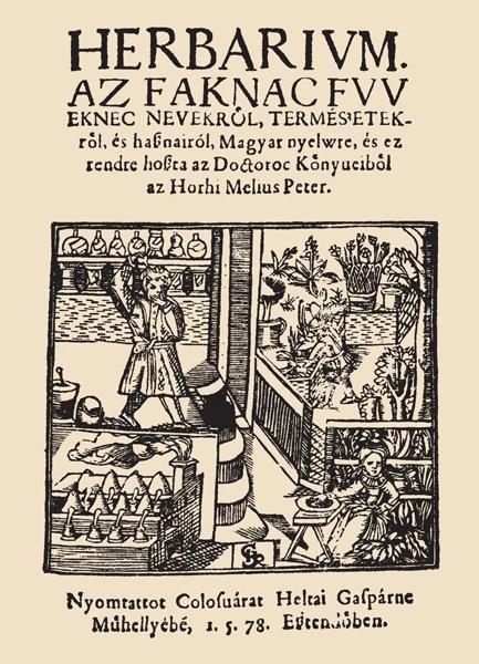 Méliusz Juhász Péter - Herbárium
