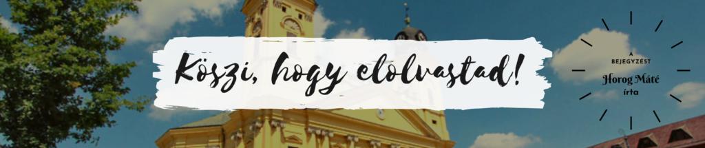 Debreceni séta - Horog Máté