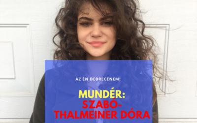 """""""Öröm viszontlátni egy tökéletesen elkapott emberi érzelmet"""" – Mundér Szabó-Thalmeiner Dórával"""