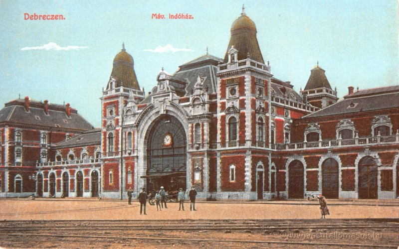 Nagyállomás Debrecenben
