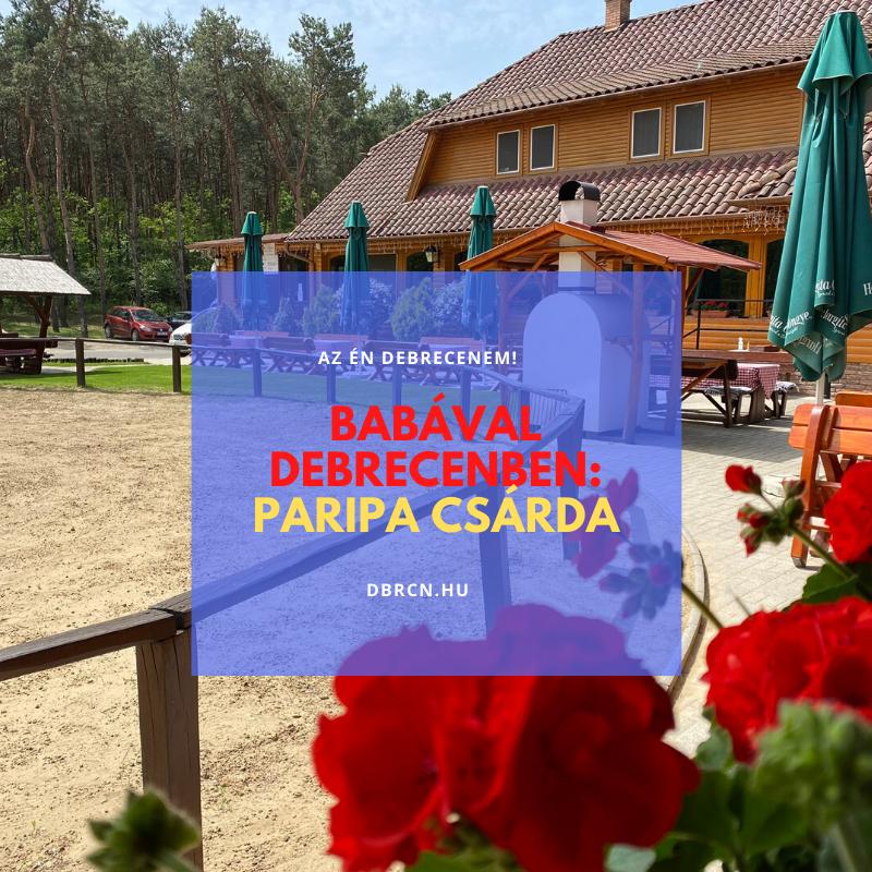 Paripa Csárda - DBRCN