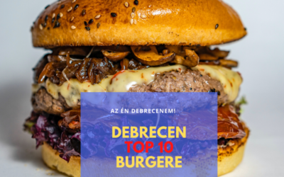 Debrecen 10 legjobb hamburgere